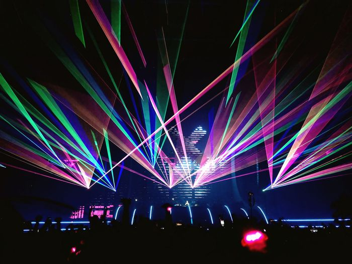 Amsterdam Music Festival #ADE #AMF #goodtimes #eyeemamazed Crowd Illuminated Performance Group Nightclub Multi Colored Party - Social Event Fan - Enthusiast Disco Lights Stage Light