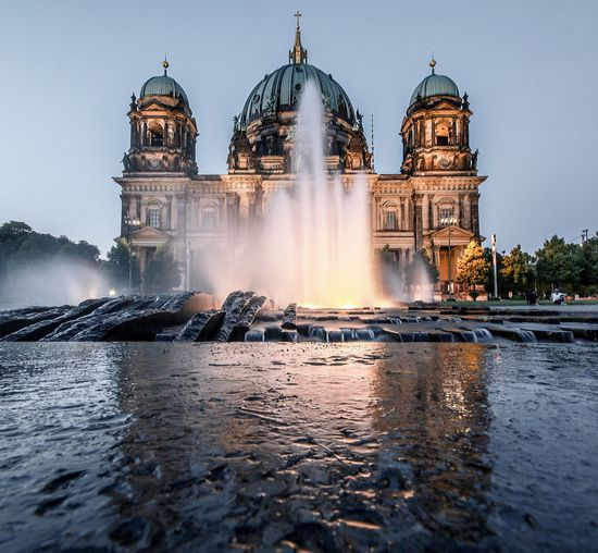 Water Dome Travel Destinations Long Exposure Berlin Mitte Germany Streetphotography Cityscape Photography Berlin City Illuminated Architecture Reflection Berliner Dom Breathing Space Investing In Quality Of Life The Week On EyeEm EyeEmNewHere