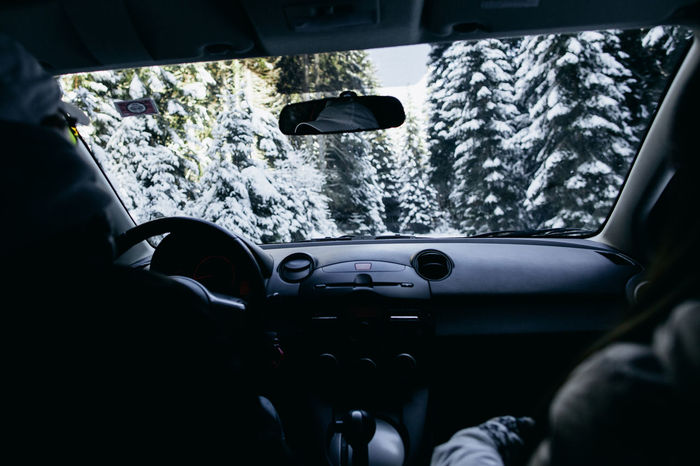 travelling by car in winter mountains and forest. EyeEm Best Shots Pine Pine Forest Snow ❄ Travel Winter Wintertime Car Car Interior Car Travel Cold Temperature Day Drive Land Vehicle Mode Of Transport Mountain Mountain Range Nature Snow Snowing Transportation Travel Weather Winter