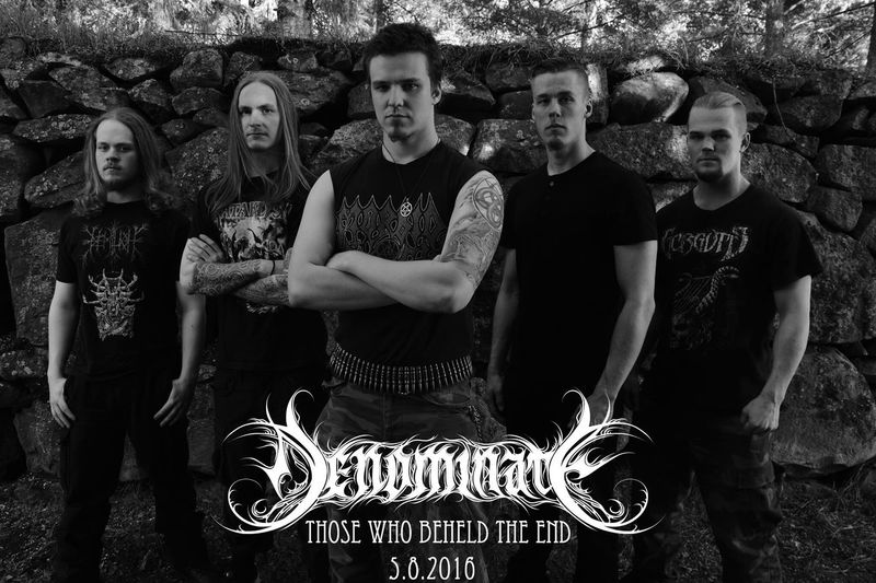 DENOMINATE NEW ALBUM! Denominate Denominateband First Eyeem Photo Bandpic Finnishmetalmusic Blackmetal Metalwillneverdie Blackandwhite Photography Nikond5300 Nikonphotography Blackandwhite Rockmusic Oulunlääni Metalhead