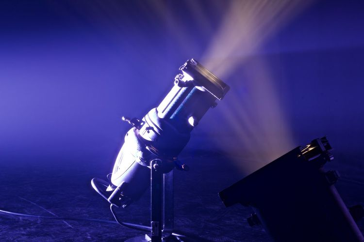 Arts Culture And Entertainment Beams Of Light Close-up Illuminated Industry Lighting Equipment Technology Theatre Lighting