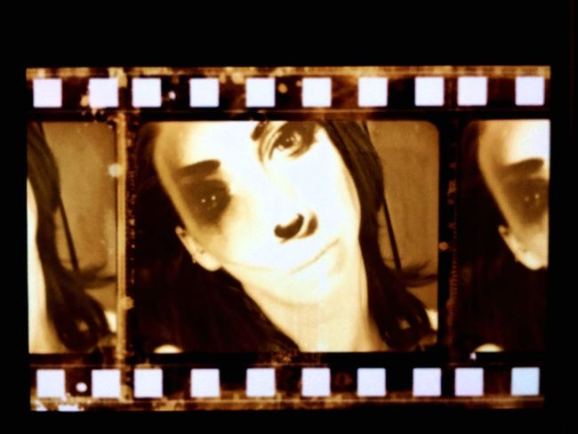 Old Hollywood Filmstrips Film Footbqll Look At Me! Looking At Camera Close-up First Eyeem Photo