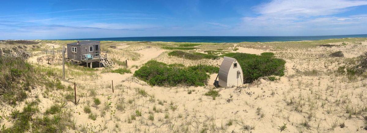 Euphoria dune shack where Jack Kerouac and ee Cummings wrote. Provincetown, Cape Cod. Euphoria Provincetown  Cape Cod Dune Shack