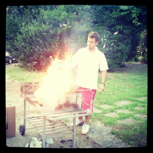 BBQ Travedona Party Bagnino Fire