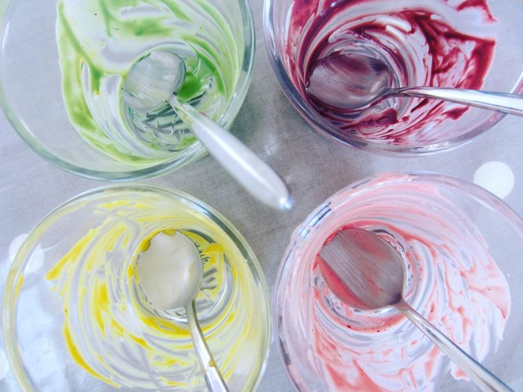 Food And Drink Colours Colors Dessert Cooking Dyes