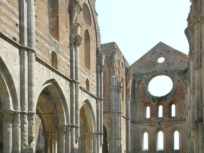 Abbey Abbey Ruins San Galgano Church Ancient Civilization City Ancient History Place Of Worship Arch The Past Architecture Building Exterior Sky