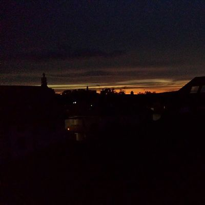 Evening sky. Not too bad for smartphone cam. Nofilter Germany Sky Galaxy s4 samsung androidonly androidnesia