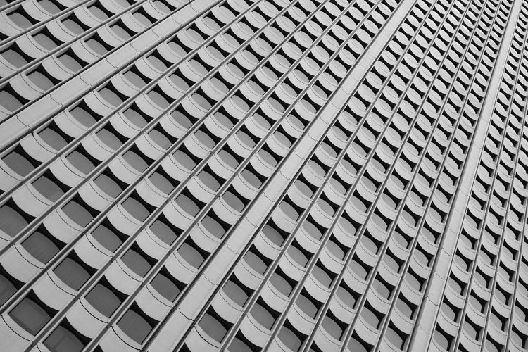 Full frame shot of modern office building