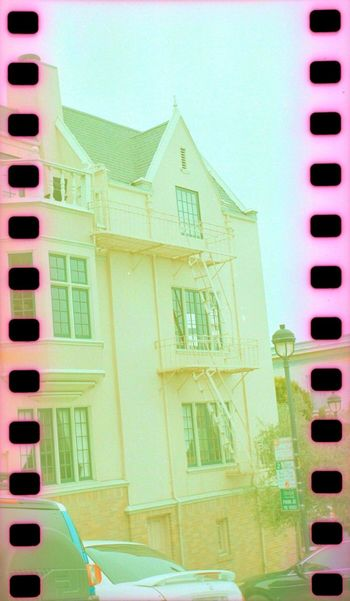 Koduckgirl Architecture Building Exterior Architecture Residential Structure Residential Building House Outdoors No People City Day Film Lubitel 166+ Sprockets