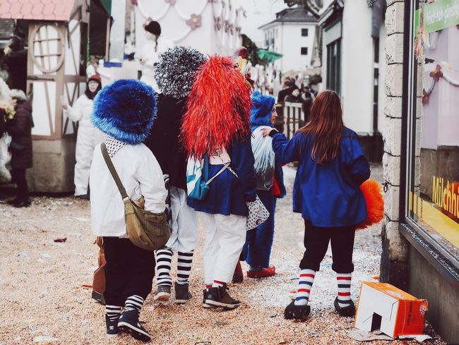 Red Blue Carnival Colors Of Carnival Fasnacht Young Masks Masked Confetti Redblue Colors Fun Kids Funtimes Friends From My Point Of View Basel, Switzerland Winter Tradition Enjoying Life Party Street Streetphotography Urban Showcase: February