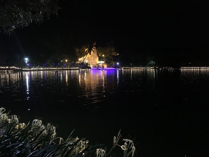 Architecture Awesome View Built Structure Illuminated Lake Lake View Temple Lightening Multi Colored Night No Filter, No Edit, Just Photography Reflection Reflection Scenics Tranquil Scene Tranquility Water Water Surface Waterfront Mumbai