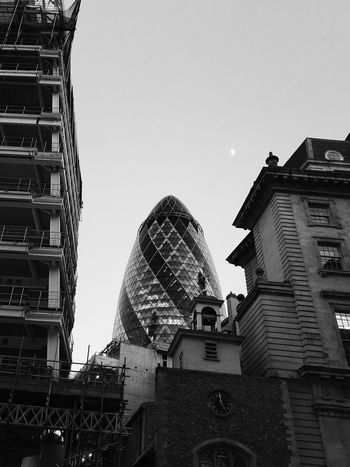 Gherkin Gherkin Tower Gherkin Building London Architecture Sky Outdoors Skyscraper City No People Day Perspective Photography Monochrome Monochrome Photography Blackandwhite Photography Black And White Photography Black & White Black And White Blackandwhite Low Angle View First Eyeem Photo
