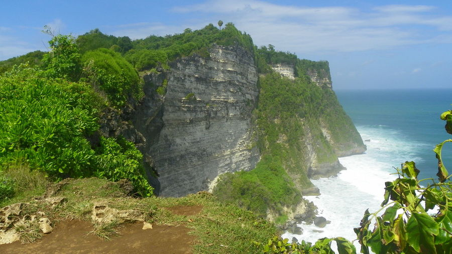 Cliffs at the end of Indian Ocean, Bali, Indonesia Bali Beauty In Nature Cliff Day EyeEmNewHere Geology Indian Ocean Landscape Limestone Mountain Nature No People Ocean Ocean View Outdoors Rock - Object Rock Formation Scenics Sea Sky Steep Tranquil Scene Tranquility Wall Water