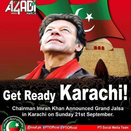 Karachi awaits you Pti
