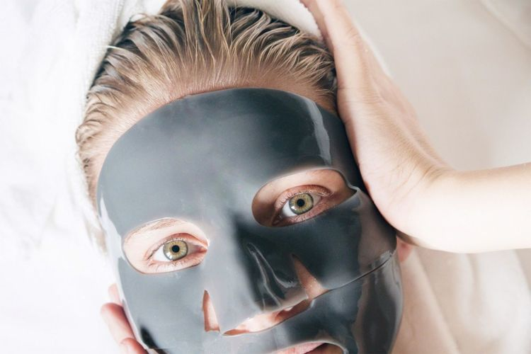 Rubber face mask Face Mask Space Spa At Home Beauty Treatment Beauty In Nature Facial Hair Facial Mask - Beauty Product Skin Skincare Product Skincare Skin Care Routine