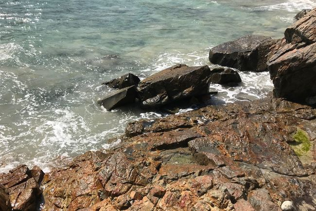 Rock - Object Water Sea Nature High Angle View No People Day