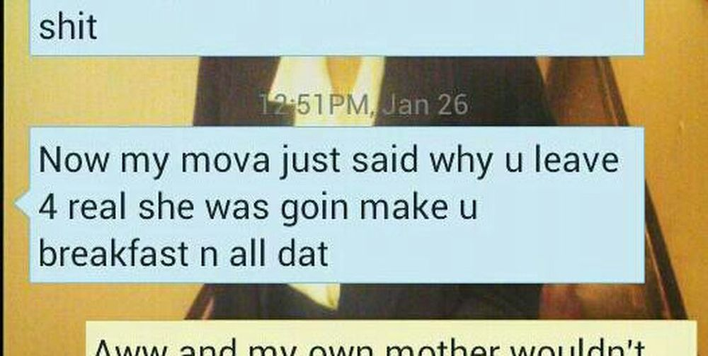 I Loveee My Mother In Laww !! She The Sh*t To Me !!!!. Lol She Always Thinking Bout Me .