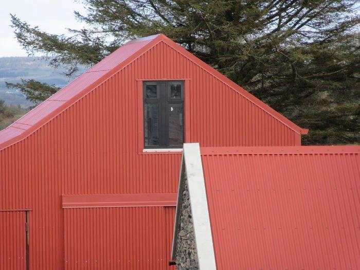 Restoration of traditional farm buildings Farm Building Farm BuildingsCorrugated Iron Red Paint Agriculture Mizen Peninsula West Cork Wildatlanticway Ireland