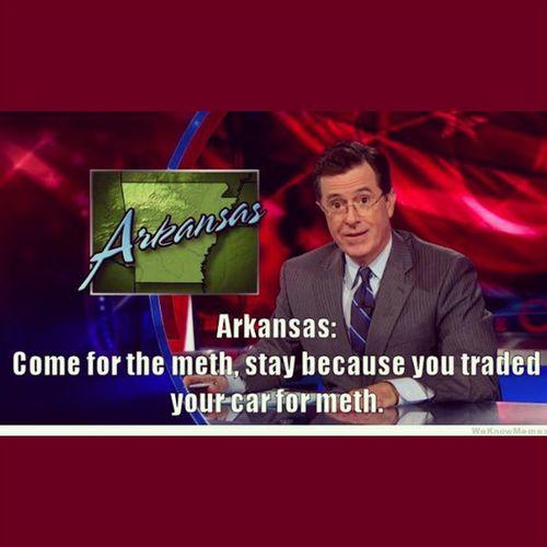 Colbertnation Arkansas YouKnowItReallyHappens Meth