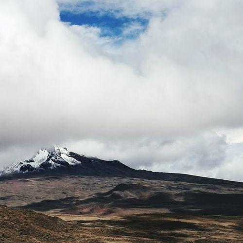 Kilimanjaro Mountains Hikingadventures Tanzania Desert Landscape Shadows And Sunlight Cloudscape
