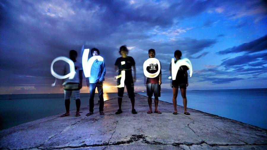 八重山 竹富島 沖縄 西桟橋 月明かり 出会い 友達 Followback Japan Okinawa Travel Moon Moonlight Friends Nature Photography Sky Taketomi Island Trip Sony α7RⅡ