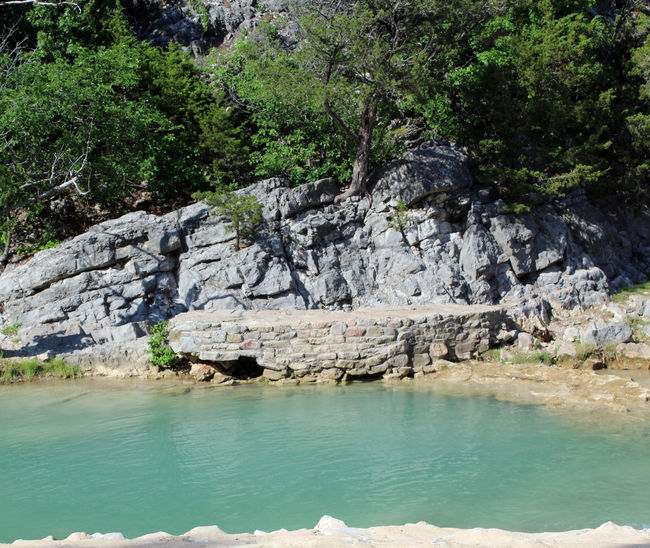 Turner Falls, Oklahoma Beauty In Nature Day Formation Land Nature No People Non-urban Scene Outdoors Rock Rock Formation Scenics - Nature Solid Stream Tranquil Scene Tranquility Water