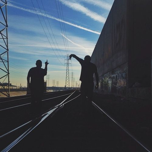 Cause we from........ LALurking Gram_Junkies Lariver Silhouette