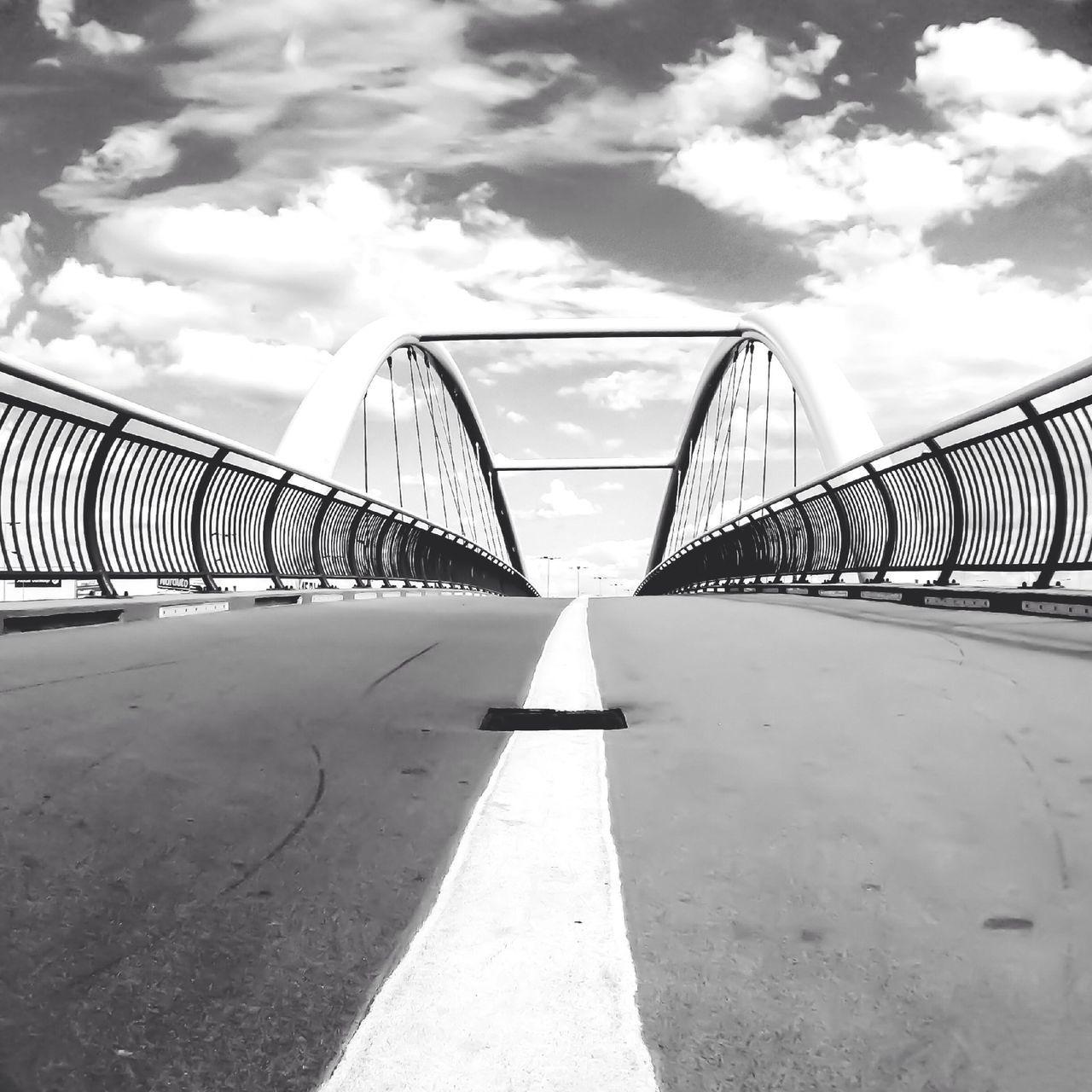 Clouds Over A Bridge