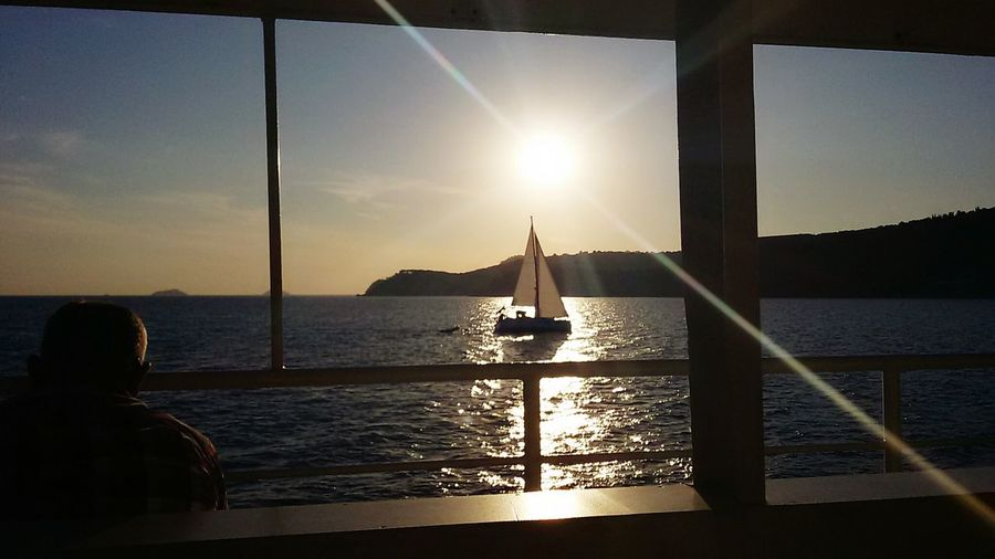 Hello World Wonderful Moment Sea And Sky Turkey Sea View Wonderful View EyeEm Best Shots The Essence Of Summer My Commute Wonderful Place Sea Clouds And Sky Ship Istanbul Turkey Sunset Sunset_collection Hebeliada