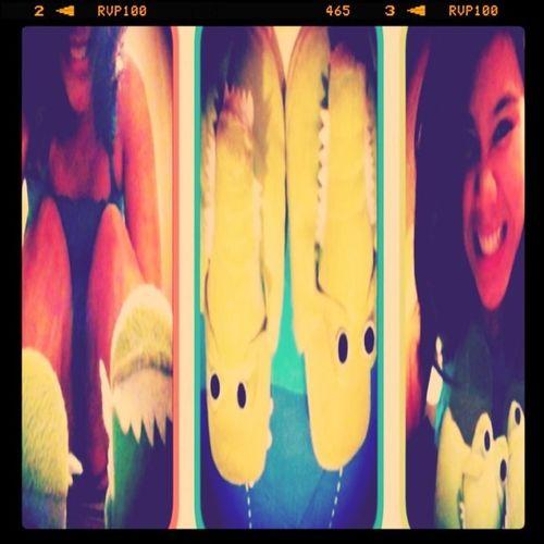 Mr. Croc sleepers :)