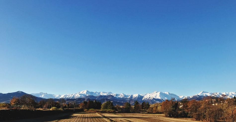 Cuneo Piemonte Mountain Mountain Range Blue Clear Sky Tranquil Scene Nature Scenics Beauty In Nature Snow Landscape Snowcapped Mountain first eyeem photo