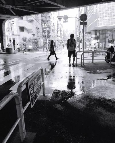 Streetphotography Street Photography Light And Shadow Monochrome Reflection Rainy Days