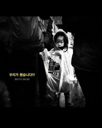 광화문 시민혁명 Movement Revolution Seoul Seoul, Korea