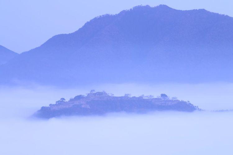 竹田城 Cloud Sea (雲海) Clouds Blue Sky