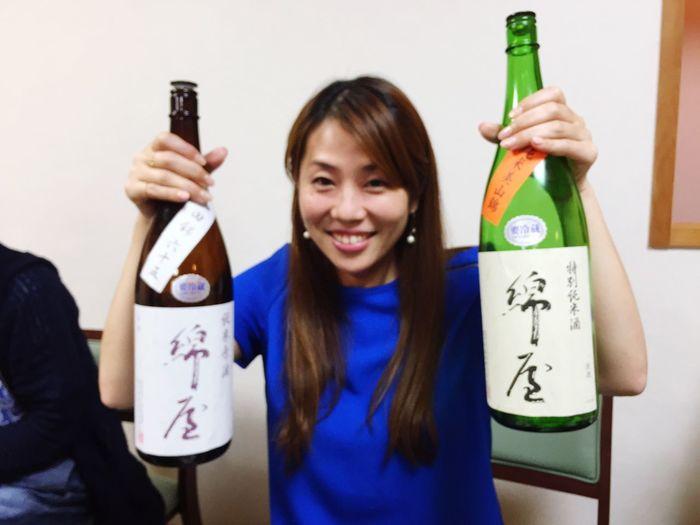 ハモ&日本酒♪ Selfportrait Sake