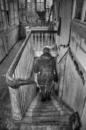 Architecture The Way Forward One Person HDR Tadaa Community Farmhouse Abandoned Abandoned Buildings Lost Places Blackandwhite Photography Blackandwhite Photography Urbex Urbexphotography EyeEm Abandoned Abandoned House