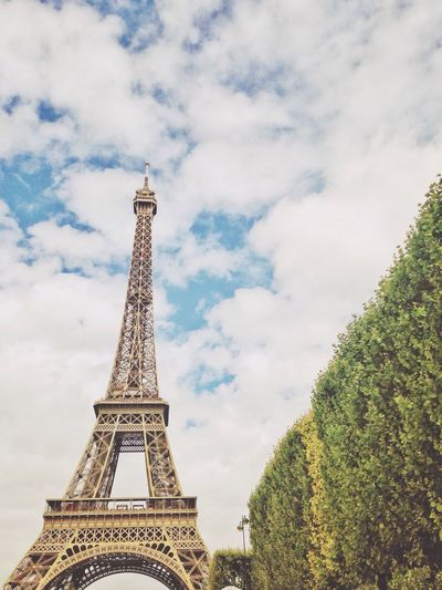 Paris Eiffel Tower France Nature Photography Summer Views