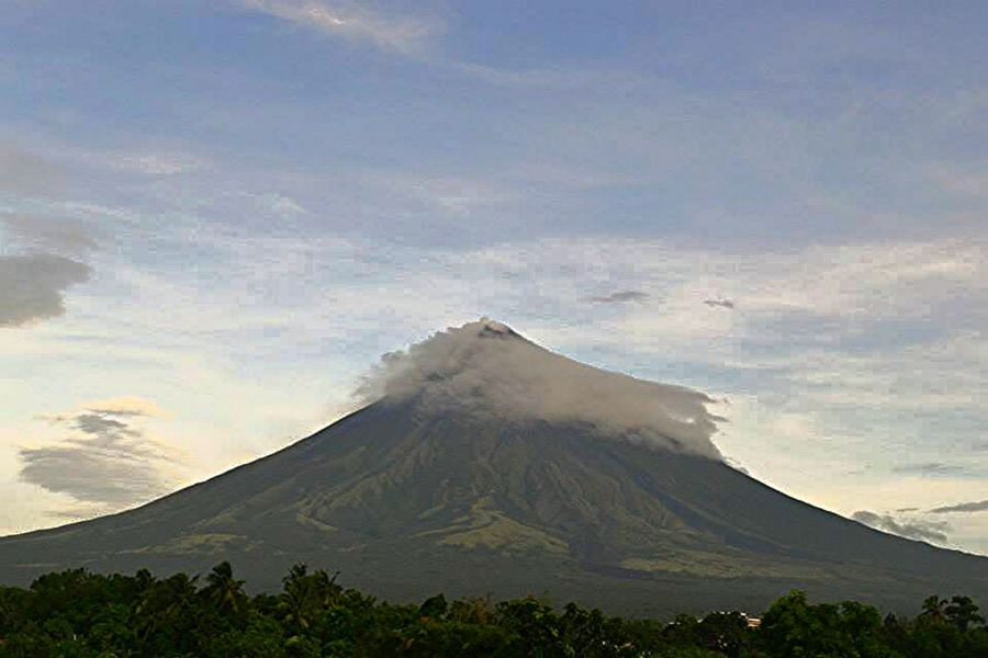 Landscape Volcano Cone More Fun In The Philippines