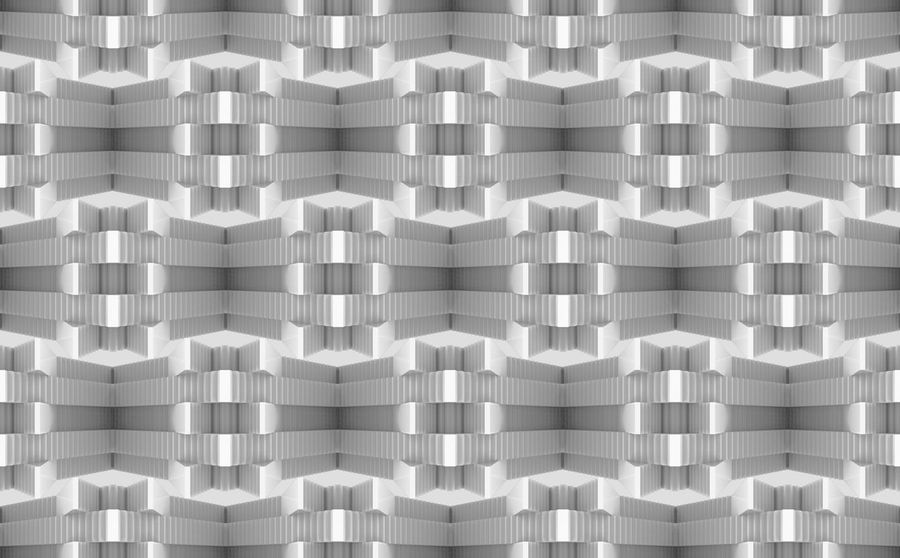 abstract seamless art pattern background. Decor Graphic Shape Abstract Art Backgrounds Design Desıgn Geometric Shape Gray Illusion Monochrome No People Pattern Patterns Repetition Seamless Shape Side By Side Simple Texture White Color