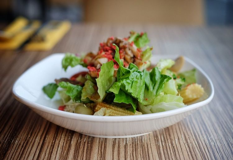 Learn & Shoot: Simplicity Foodphotography Photography Fujifilm Fujifilm_xseries Photographer Streetphotography Asian  Salad Meal Foodporn Singapore
