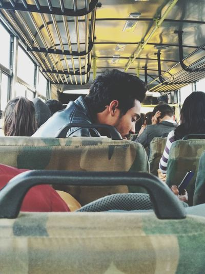 bus life Bus Buslife Bustravel Mobility In Mega Cities One Man Only Indoors  Adult Adults Only One Person Only Men Men The Portraitist - 2018 EyeEm Awards The Traveler - 2018 EyeEm Awards The Photojournalist - 2018 EyeEm Awards