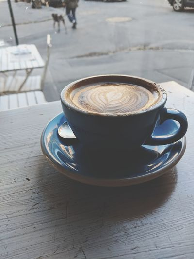 Coffee - Drink Coffee Cup Drink Food And Drink Cafe Cappuccino Refreshment Cup Saucer Frothy Drink Espresso Latte No People Table Mocha Close-up Freshness Indoors  Day Froth Art