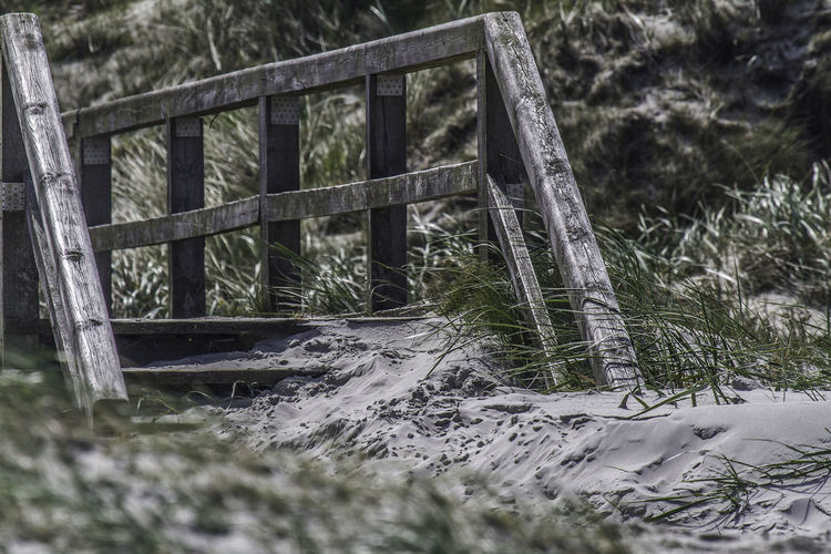 footbridge in