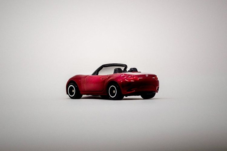 mazda mx-5 roadster tomica Mx5 Modelcar Tomica Mazda Old-fashioned Retro Styled No People Close-up