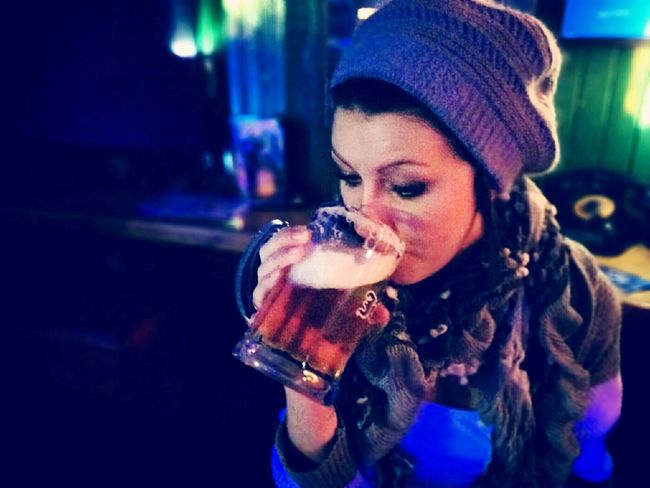 Drink makes us happy :3 Beer Drinking Drinks SundayFunday