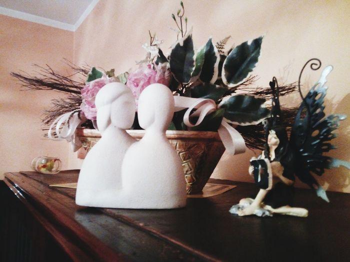 Flower Vase Figurine  Table