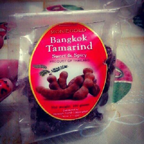 thankyou so much ate sa pasalubongbong mo :) Moniegold BangkokTamarind Sweet & Spicy @grace_kulitz
