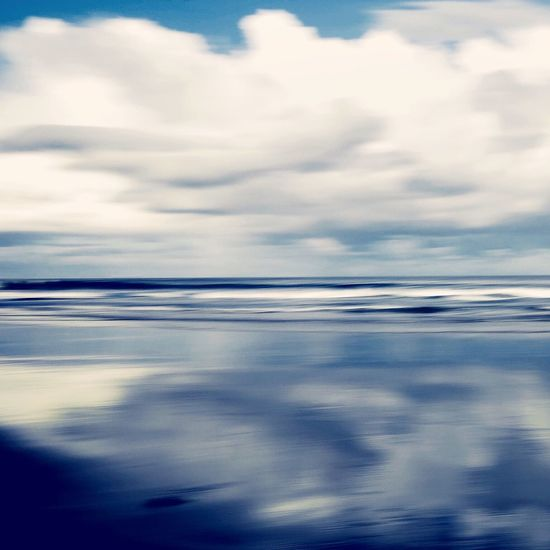 Beachphotography Cloud - Sky No People Abstract Photography Blurred Motion On The Road