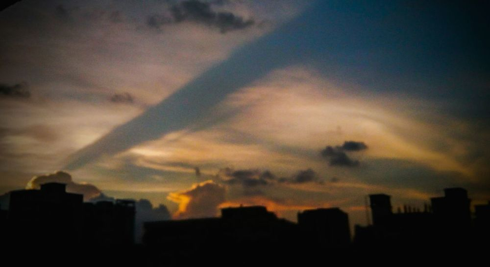 Dhaka Mobile Photography Evening Sky Bangladesh