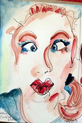 Watercolor fun. Art, Drawing, Creativity Art Drawing Drawingaday